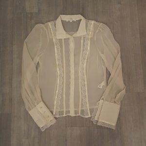 Tops - Alice + Olivia Lace Blouse